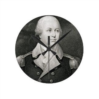 Generalmajor Nathaniel Greene (1742-86), graviert Wanduhren