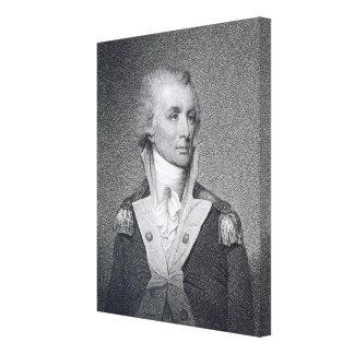 Generalmajor Thomas Sumter (1734-1832) gravierte b Leinwand Druck