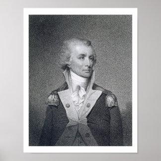 Generalmajor Thomas Sumter (1734-1832) gravierte b Poster