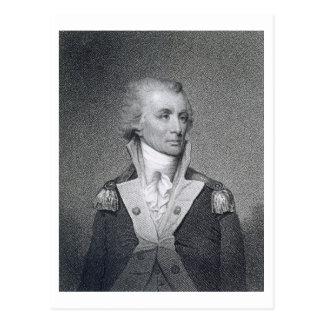 Generalmajor Thomas Sumter (1734-1832) gravierte b Postkarte