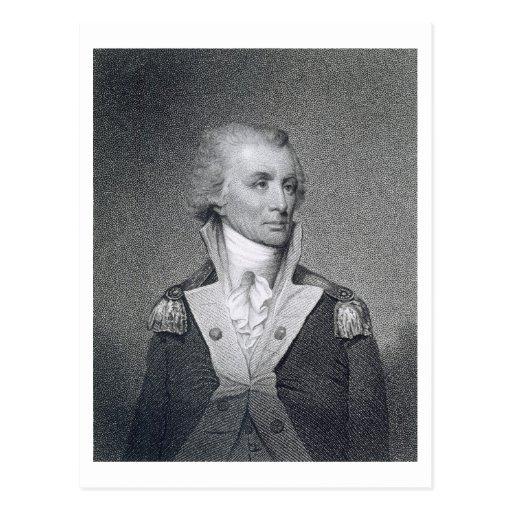 Generalmajor Thomas Sumter (1734-1832) gravierte b Postkarten
