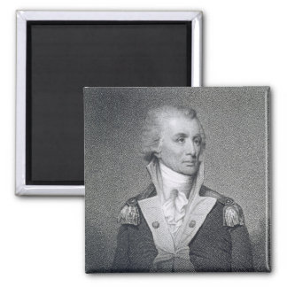 Generalmajor Thomas Sumter (1734-1832) gravierte b Quadratischer Magnet