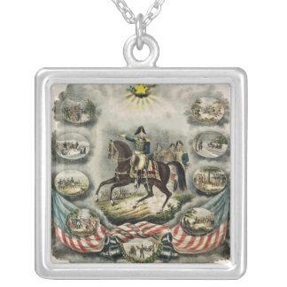 Generalmajor William Henry Harrison, c.1813 Halskette Mit Quadratischem Anhänger