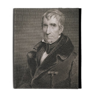 Generalmajor William Henry Harrison, vorbei gravie