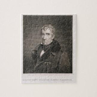 Generalmajor William Henry Harrison, vorbei gravie Jigsaw Puzzle