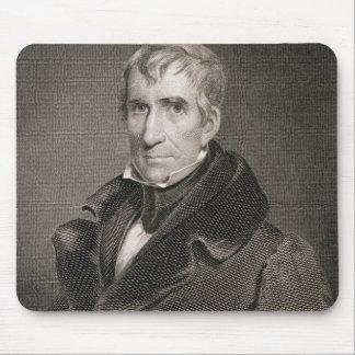 Generalmajor William Henry Harrison, vorbei gravie Mauspad