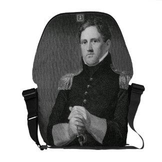 Generalmajor Winfield Scott (1786-1866) graviert Kuriertasche