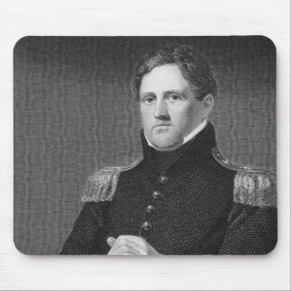 Generalmajor Winfield Scott (1786-1866) graviert Mousepad