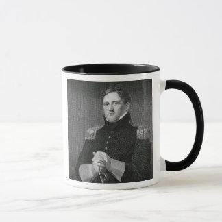 Generalmajor Winfield Scott (1786-1866) graviert Tasse