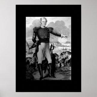 Generalmajor Winfield Scott bei Vera Cruz_War Ima Poster