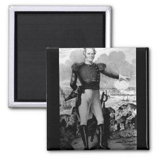 Generalmajor Winfield Scott bei Vera Cruz_War Ima Quadratischer Magnet