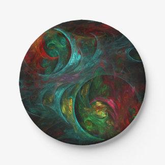 Genese-Nova-abstrakte Kunst Pappteller