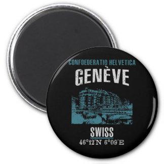 Genf Runder Magnet 5,1 Cm