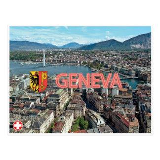 Genf- - Schweiz-Postkarte Postkarte