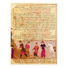 Genghis Khan und seine Söhne durch Rashid AlLärm Postkarte