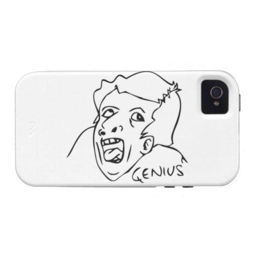 Genie-Comic Meme Vibe iPhone 4 Cover
