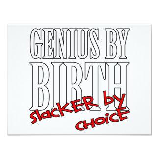 GenieSlacker 10,8 X 14 Cm Einladungskarte