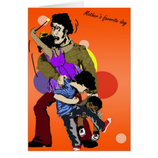 Genießen Sie Ihren Tag, der Vatertags-Karte Karte