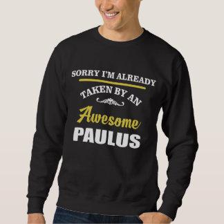 Genommen durch ein fantastisches PAULUS. Sweatshirt