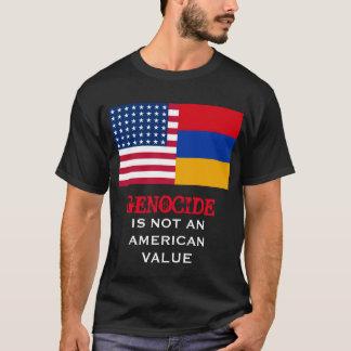 Genozid ist nicht ein amerikanisches Wert-Shirt T-Shirt