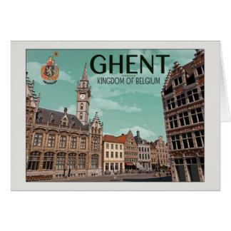 Gent - Korenmarkt Karte