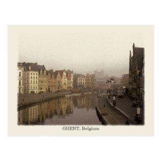 Gent, Vintage Art Postkarte
