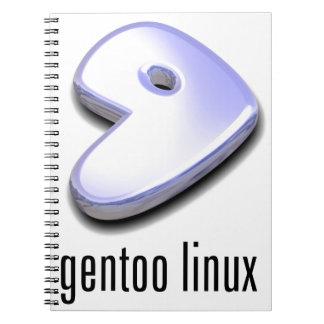 gentoo Linux-Logo Notizblock