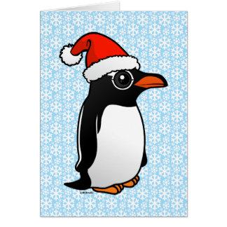 Gentoo Pinguin Sankt Karte