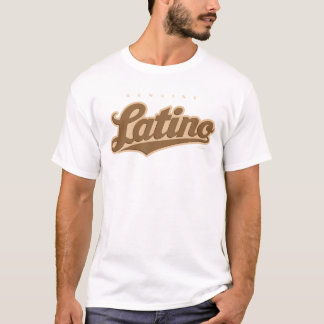 GenuineTee - Latino (Braun) T-Shirt