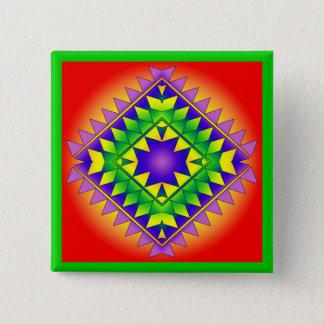 Geo R7 Quadratischer Button 5,1 Cm