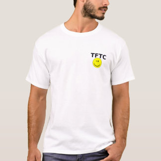 Geocaching Geocache TFTC Wink-smiley-T-Shirt T-Shirt