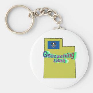 Geocaching Utah Keychain Schlüsselanhänger