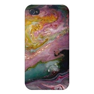 GEODE abstrakte Kunst-Haut/Fall für Iphone iPhone 4/4S Hüllen