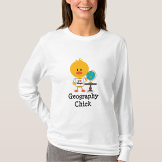 Geografie-KükenHoodie T-Shirt