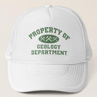 Geologie-Abteilungs-Kappe Truckerkappe