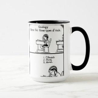 Geologie-lustige Felsen-Tasse Tasse