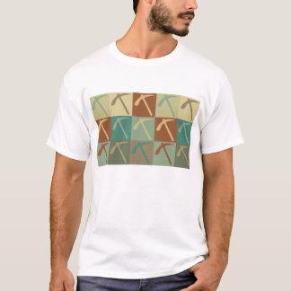Geologie-Pop-Kunst T-Shirt