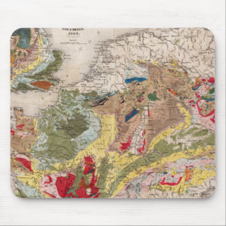 Geologie von Europa Mauspads