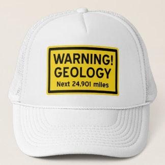 Geologie-Warnzeichen Truckerkappe