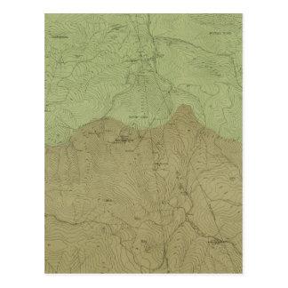 Geologische Karte des neuen Idria Bezirkes
