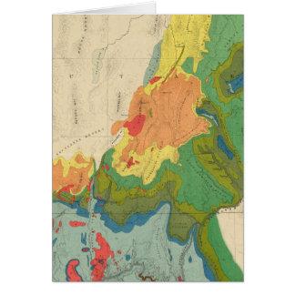 Geologische Karte des Western-Teils