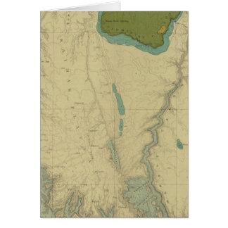 Geologische Karte, die das Kanab zeigt Karte