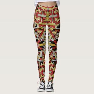 Geomethric Stammes-/ethnisches Muster Leggings