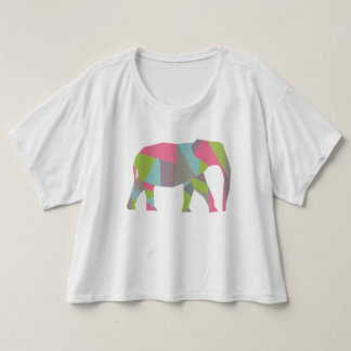 Geometric Elephant T-shirt