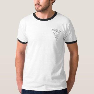 Geometric Pizza Pocket shirt