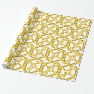 Geometrie der Täuschungs-unmögliche Illusions-3d Geschenkpapier