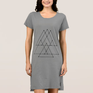Geometrie durch Donny Säulengang Kleid