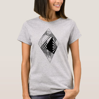 Geometrie Raute T-Shirt