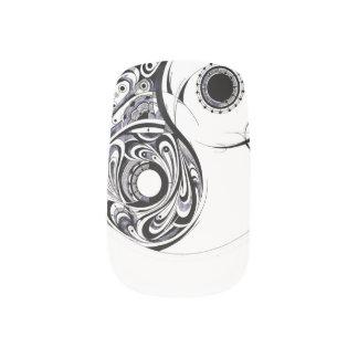 Geometrie Yin-Yang Minx-Nägel Minx Nagelkunst