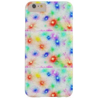 Geometriewiederholungsabstrakter heller Pastellton Barely There iPhone 6 Plus Hülle